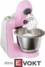 BOSCH MUM58K20 CreationLine Food Processor Pink Silver 1000W Genuine New