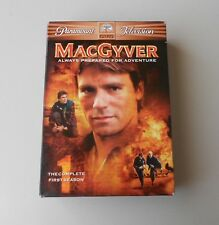 MacGyver First Season Dvd Set Action Adventure Mystery Detective SciFi 80's Show