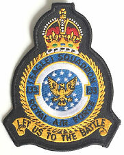 RAF No.133 Eagle Squadron Royal Air For Military Embroidered Patch MOD Approved