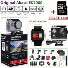 Akaso EK7000 Silver Wifi Ultra HD 4K Sport Action Camera DVR Camcorder + 32GB TF