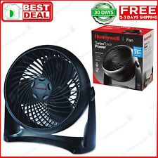 TurboForce Air Circulator Fan Honeywell HT-900 Black Speed Small Rooms Turbo
