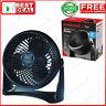 Honeywell Air Circulator Fan Turbo Force HT-900 Black Speed Small Rooms Turbo