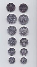 Indonesien / Indonesia - Satz von 6 Münzen 1996-2010 UNC