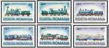 Timbres Trains Roumanie 3204/9 ** lot 24759