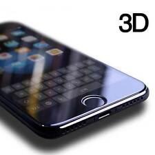 Para iPhone 7 Negro Ultra 3D cubierta de completo curvo tempred Vidrio Protector de pantalla