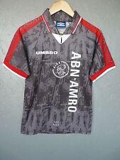 De Colección Ajax Umbro 1996 Away Camiseta de fútbol trikot jersey talla 176cms (Y044)