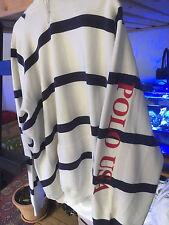 Ralph Lauren Polo Vintage Usa hoodie 80's p wing snow beach Stadium
