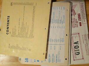 SAMS Photofact Folder Sets from 1001-1150