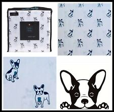 Cynthia Rowley French Bulldog Frenchie Queen 4-Piece Sheet Set