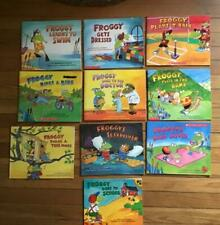 10 FROGGY PICTURE BOOKS by JONATHAN LONDON PB