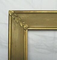 "ANTIQUE FITS 9"" X 11"" GOLD GILT COUNTRY PRIMITIVE WOOD FRAME FINE ART VICTORIAN"