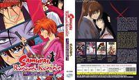 ANIME DVD ENGLISH DUBBED Rurouni Kenshin(TV+Movie+OVA+Live Action)FREE SHIP L6