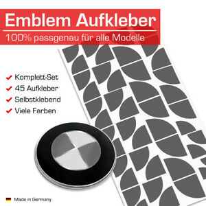 Emblem Aufkleber Emblem Aufkleber Ecken für BMW Autos 1er 3er 5er 8er 45 Eck