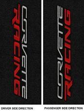 Lloyd Mats C7 Corvette Racing Sideways Logo Floor Mats (2014 & Up)