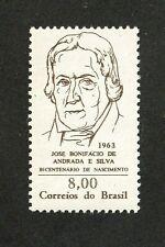 NO RESERVE AUCTION!!  Brazil stamp #959, MNHOG, XF, 1963