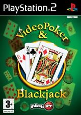 Video Poker And Blackjack PS2 Game USED