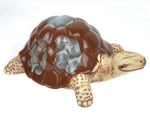 Ceramic Pottery Turtle Figurine Frostproof for Garden Planter Outdoor Indoor