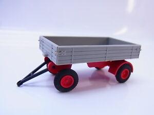 54346 Faller Ams Truck Trailer 4872 Grey For Slot Car Racing Track