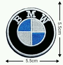 BMW 5.5cm Motorcycle Patches Logo Embroidery Iron on ,Sewing on Clothes