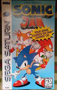 Official vintage Sega Sonic Jam instruction manual booklet Saturn hedgehog