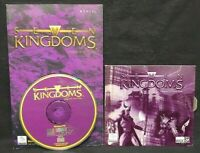 Seven Kingdoms PC, 1997 CD-ROM Game + Manual - Mint Disc 1 Owner !