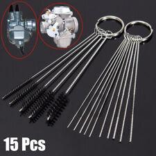 A Set Remove Cleaning Needles Brushes Kit Carburetor Carbon Dirt Jet Kit