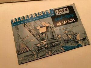 RARE Atlas Snap-Track NO Layouts Blueprints Booklet; July 1979 Printing; EXCELLE