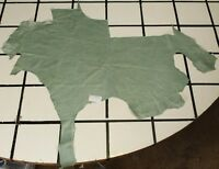 """Lake Kushtaka"" Blue-Green Scrap Leather Hide Approx. 10.5 sqft. H14Y19-7"