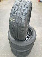 Winterreifen Winterräder BMW X1 E84 Pirelli 225/50 R17 94H RSC 2x6mm  2x7mm