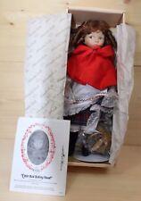 Knowles Ashton Drake Porcelain Doll 1988 LITTLE RED RIDING HOOD NIB