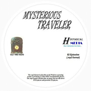 MYSTERIOUS TRAVELER - 82 Shows Old Time Radio In MP3 Format OTR 1 CD