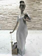 "Vintage Lladro Figurine ""Traveling Companions"" #6753 Rare & Htf Gorgeous!"