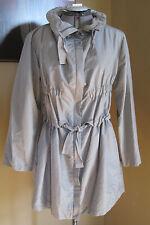NWT Joan Vass Gray Anorak Jacket Size 6