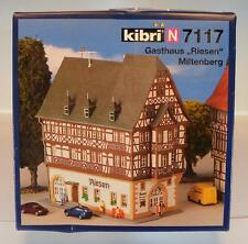 Kibri N Spur 7117 Bausatz Kit Gasthaus Riesen Miltenberg OVP #1472