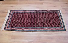 """1924 Signed IH Runner Prayer Rug Hand Loomed Collectable 62"""" x 28.5"""""""