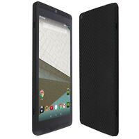 Skinomi Black Carbon Fiber Skin+Screen Protector for NVIDIA Shield Tablet K1