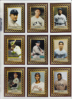 Lot of 9 Serial # Fan Club series Mays Paige Cobb Gehrig Koufax & more  🔥