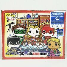 2019 DC Funko Pop Tees The Big Bang Theory Bazinga! Size Large L T-Shirt