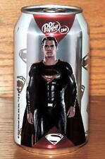 2016 USA DR PEPPER DIET LE #2of5 BATMAN v SUPERMAN MOVIE DC COMICS FULL 12oz CAN