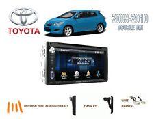 2009-2010 TOYOTA MATRIX CAR STEREO KIT, BLUETOOTH TOUCHSCREEN DVD USB