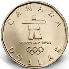 2010 $1 Lucky Loonie Canadian Dollar
