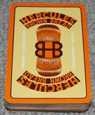 Hercules Brown Bread 1920's Pack of Art Deco Advertising Wide Playing Cards