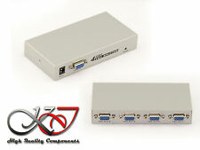 Vga splitter 4 port 150mhz image of a pc to 4 screens