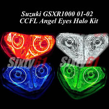 Suzuki GSXR 1000 2001-2002 CCFL Demon Halo Angel Eyes lights rings ojos
