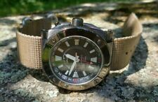 Seiko 5M65-0AB0 Kinetic GMT 100m New Capacitor Runs Well