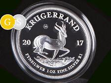 1 Oz Silber Proof PP Krugerrand 50 Jahre Südafrika 2017 South Africa Silver