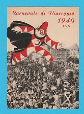 6196) Viareggio Carnevale 1940-XVIII (Original postcard)