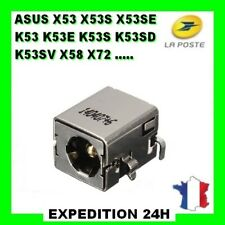 Connecteur alimentation ASUS X53S conector Dc power jack prise connector Top Pro
