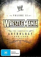 WWE - Wrestlemania Anthology : Vol 2 (DVD, 2011) - Region 4