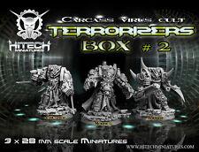 Hitech Miniatures - 28SF046 Terrorizers Box N°2 28mm Warhammer 40k 40000